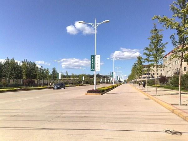 高杆灯路灯杆与一般中杆道路路灯中间的差别