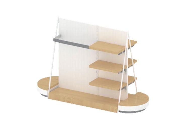 鞋饰方形梯台