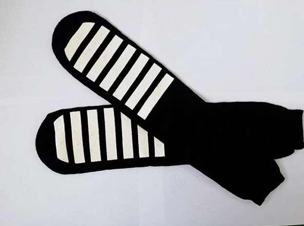 防滑点胶袜真的防滑吗