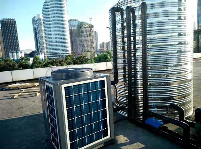 南通军分区司令部空气能热水系统