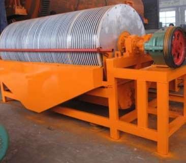 礦用磁選設備的功能簡要概述