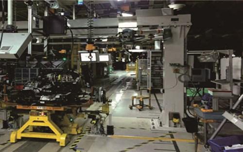 汽车减震器装配