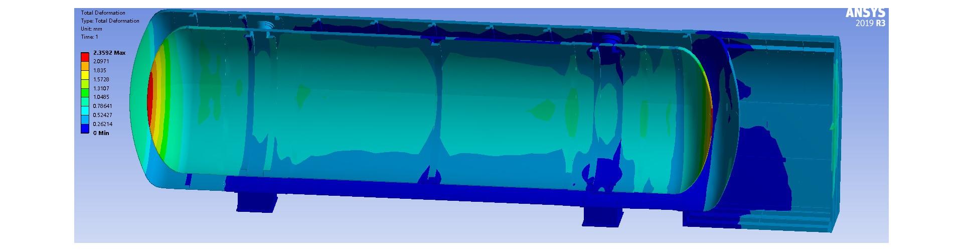 船用燃料储罐
