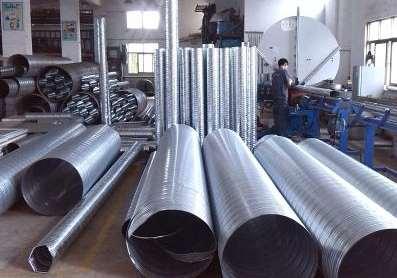 焊接选择耐高温通风管道需要注意的因素