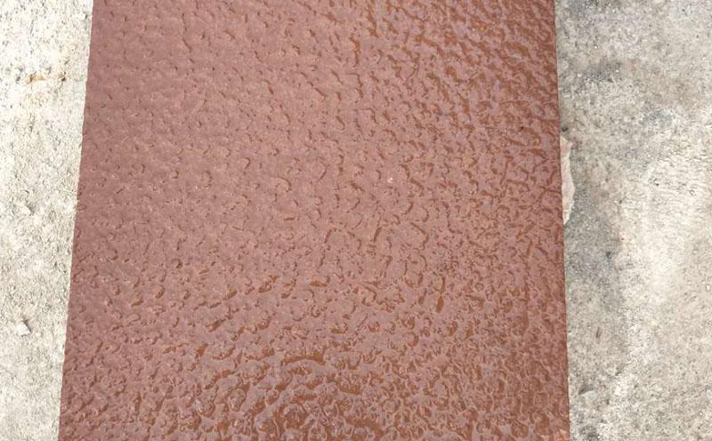红砂岩浮雕图案纹理在装饰中的功效