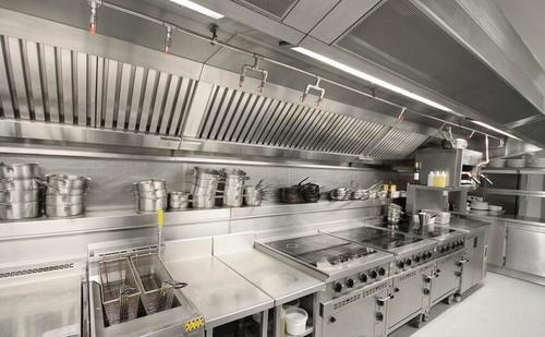 商用厨房设备为何要挑选用金属材质