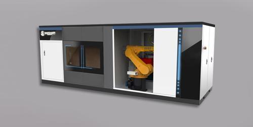 便携式修复方舱激光再制造装备