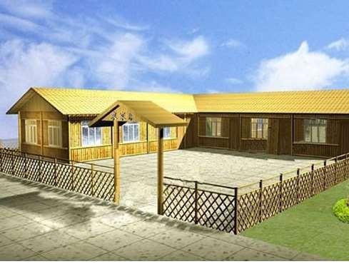 江西竹房子可以这样来建造
