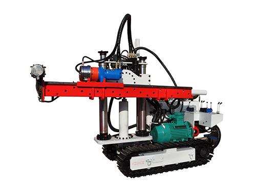 履带式液压钻机液压传动系统的维护保养与常见故障清除