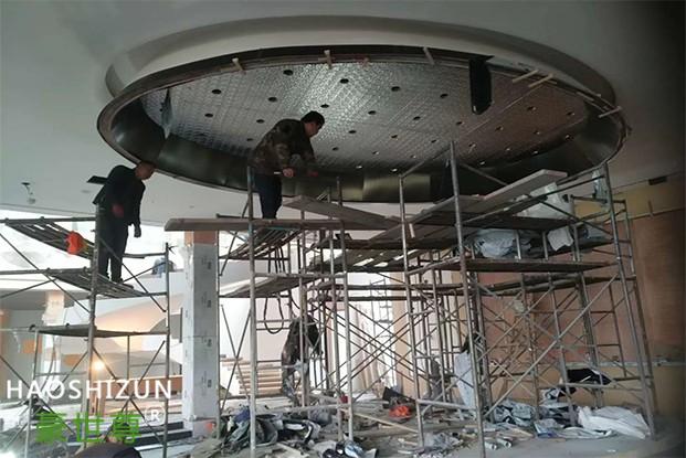 不锈钢吊顶工程