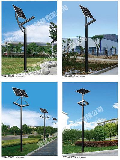 为什么太阳能路灯杆务必确保一定的抗冲击抗压强度
