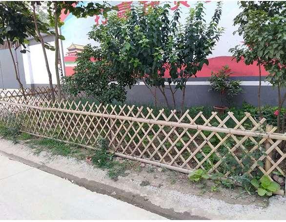 怎样设计竹篱笆装饰框