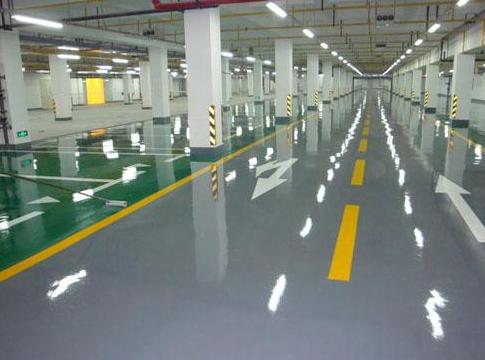 环氧树脂地坪漆工程施工