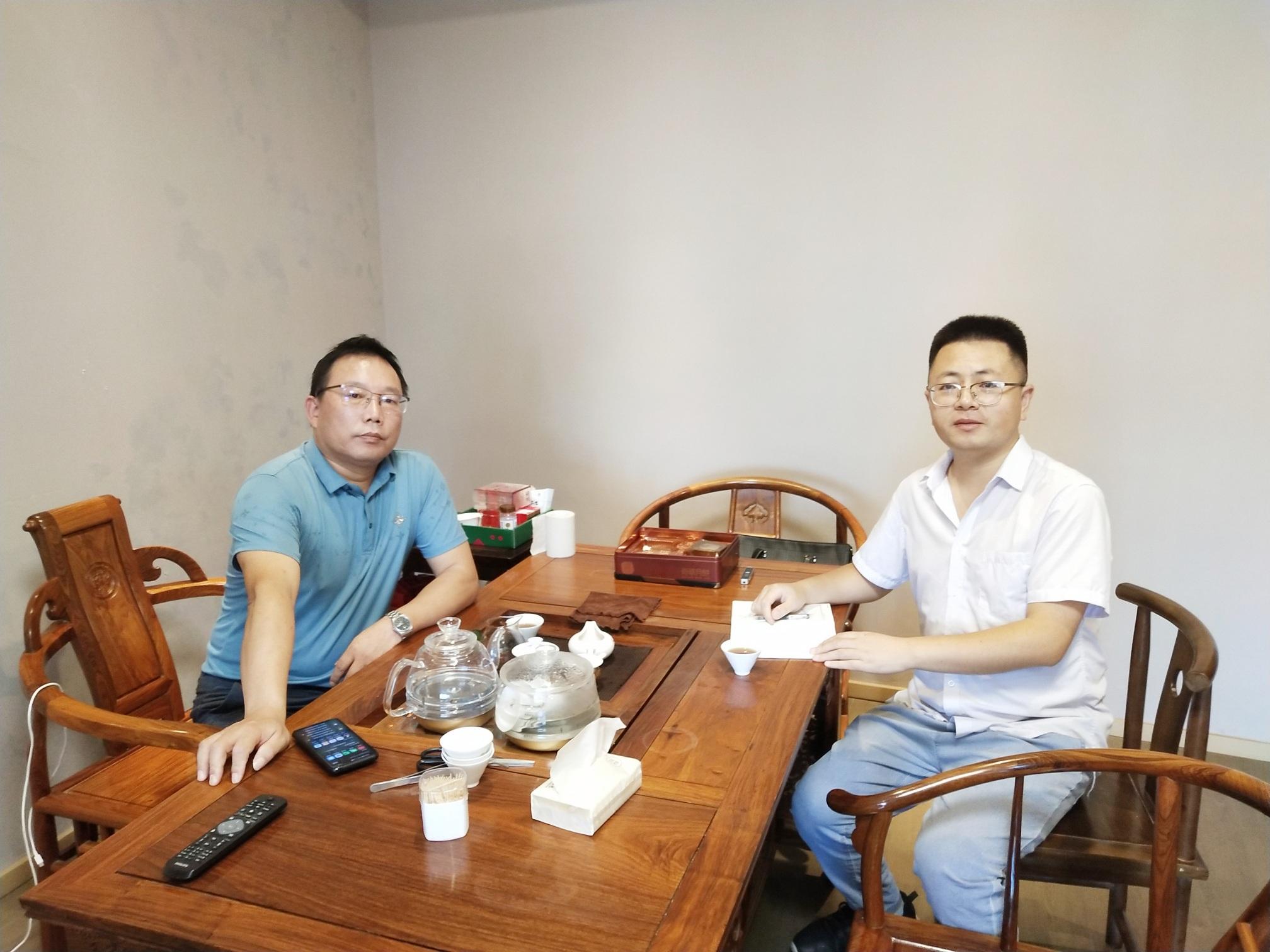 采访泉港商会陈文斌先生