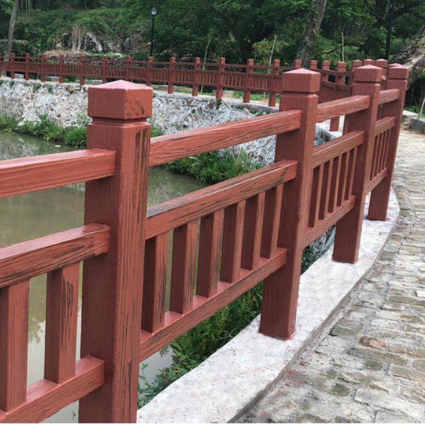 如何选购优质仿木护栏