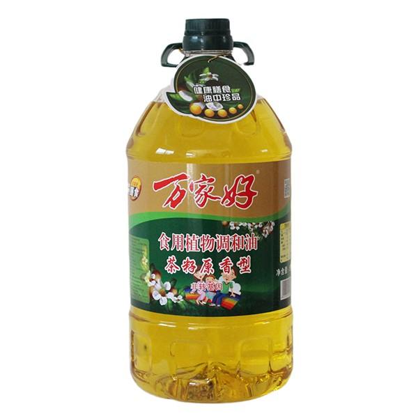 食用植物调和油茶籽原香型
