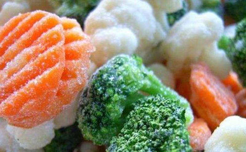 我国冷库发展迅速,速冻蔬菜成市场新方向
