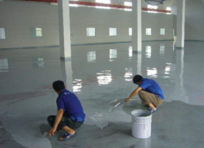 地坪漆施工