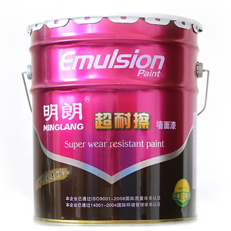 明朗超耐擦墙面漆