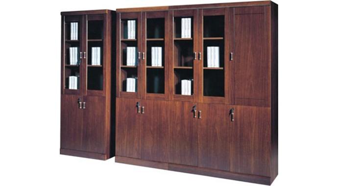 整体式书柜