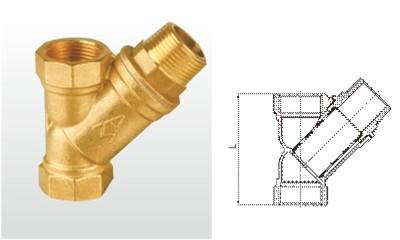 埃美柯过滤器-SY11-16T 黄铜过滤器