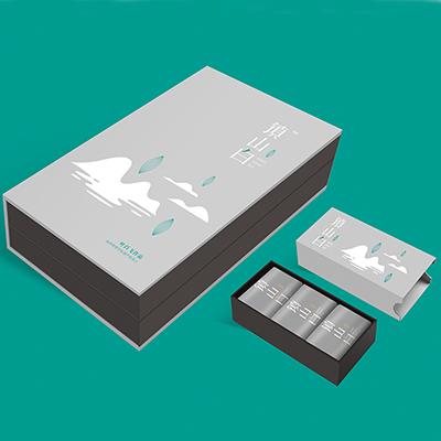 镇山白茶叶包装盒策划设计