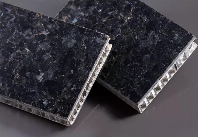 仿石纹铝蜂窝板