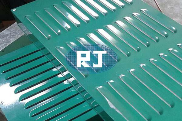 不锈钢冲孔网生产怎样减少机械设备噪声