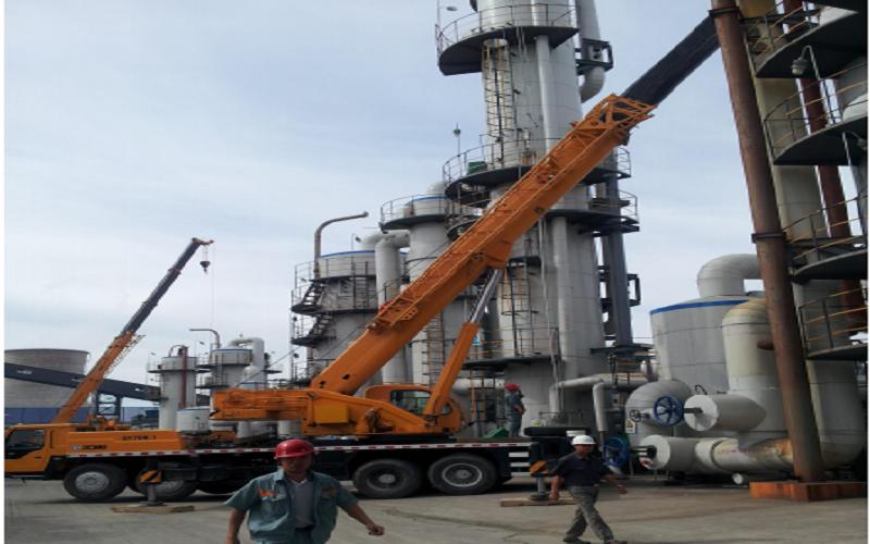 新疆某集团 100 万吨/年柠檬酸生产装置部分安装工程