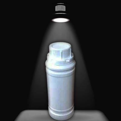 白色农药瓶