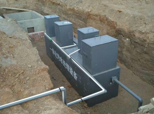 地埋式污水处理设备的常见故障及解决方法