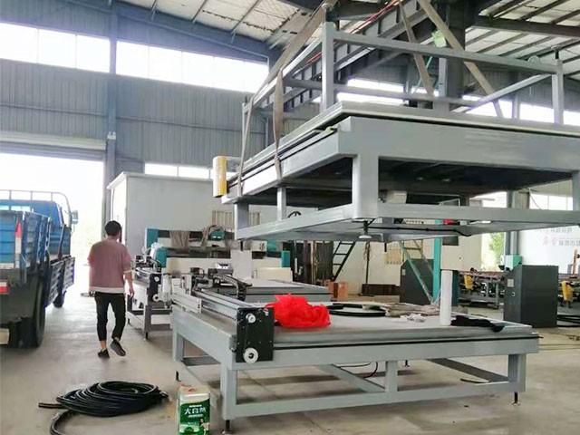 扬州玻璃切割机运输案例
