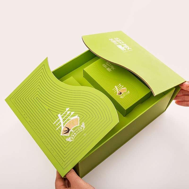 茶的舞姿茶叶包装盒
