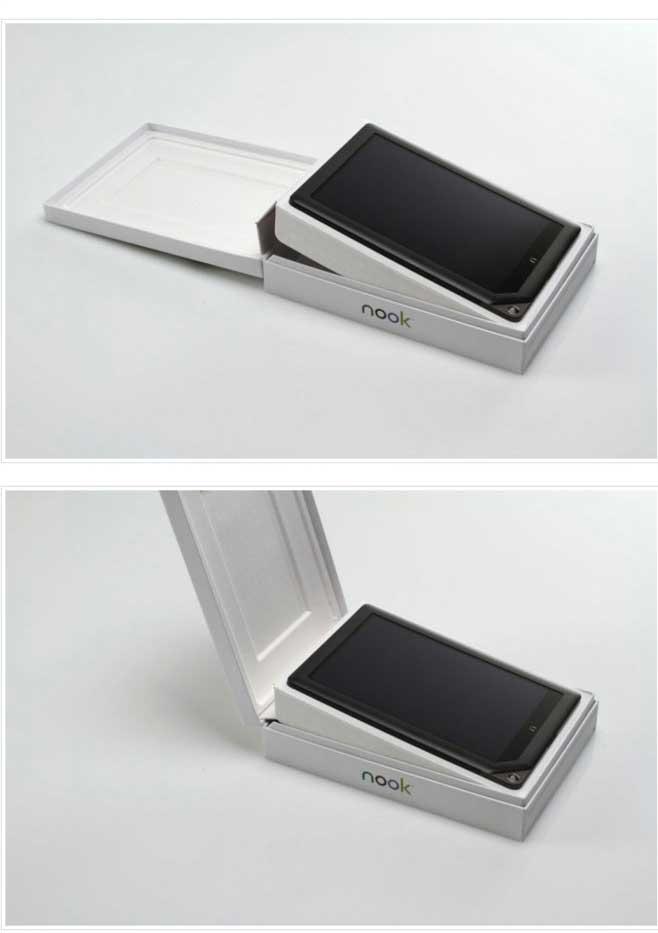 nook平板电脑包装盒