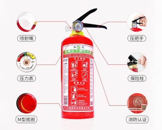 消防器材有哪些常见的类别