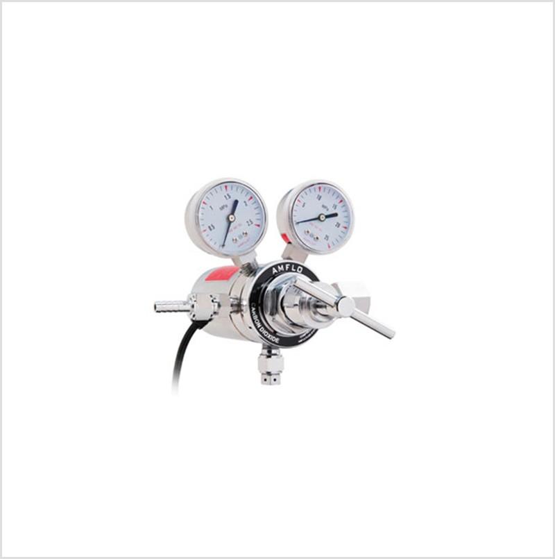 R198CG电加热二氧化碳减压器的使用方法