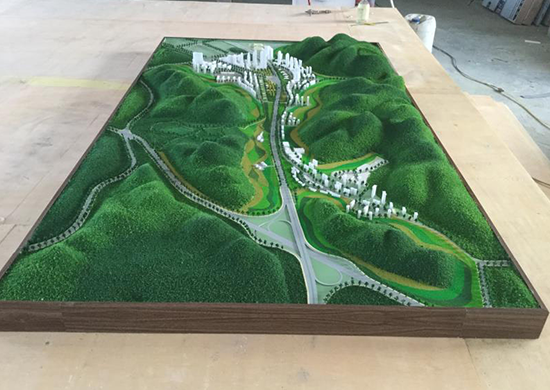 廣州古建模型定制
