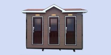 新型钢结构房屋移动厕所越来也被需要