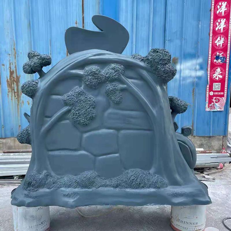 青藏野生动物园雕塑造型标识