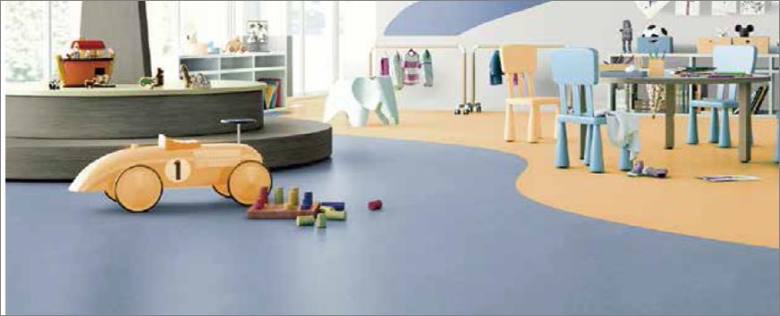 同质透心地板—Somplan 350
