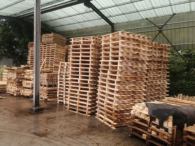 木托盘仓库