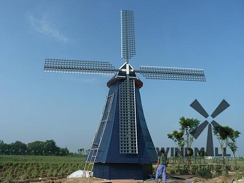 景观风车制造业的发展极大地促进了旅游业的发展