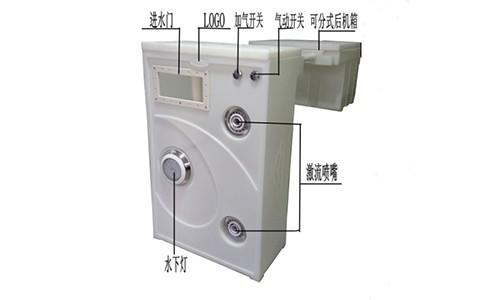 海浦乐嵌入式泳池设备E-30(白色)