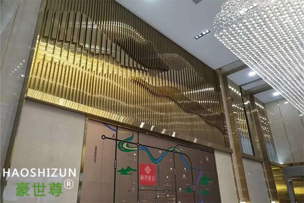 四川不锈钢墙面装饰工程