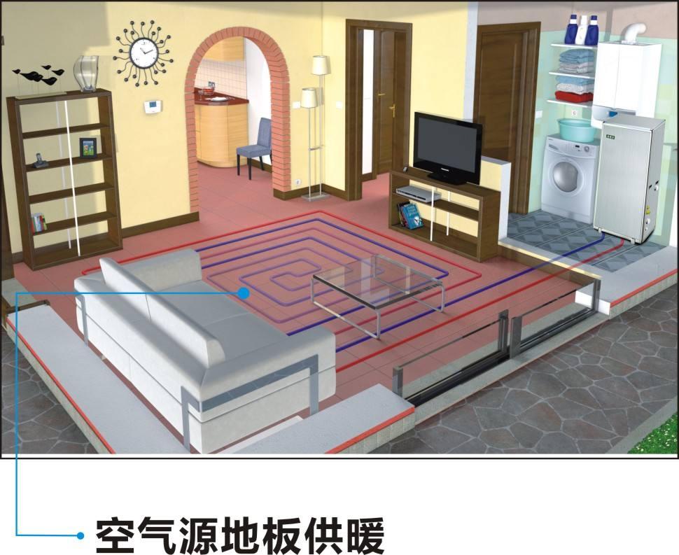 空气能采暖在生活中的应用