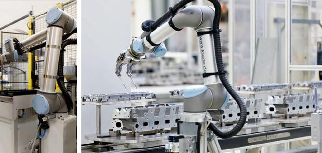 优傲机器人汽车行业应用