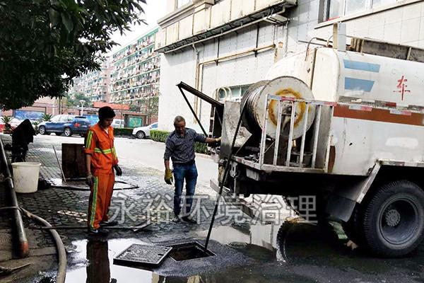 社区雨污水管道疏通