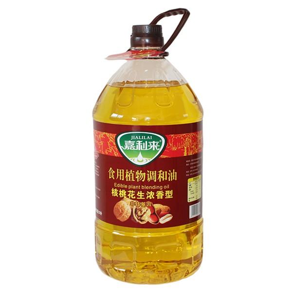 食用植物调和油 核桃花生浓香型