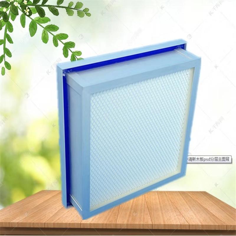 高效空气过滤器不能水洗再重复用的原因