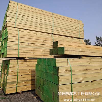 樟子松木材